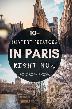 Paris Bloggers, Instagrammers & Content Creators to Follow right now. Paris based content creators who will bring Paris to you!