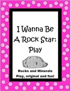"This 8 page ""I Wanna Be a Rock Star"" play by The Teacher Next Door is an original one I wrote for my class. It is filled with excellent scientific information about rocks and minerals, including sedimentary, igneous, and metamorphic types, fossils, Moh's Scale of Hardness and more. Even better, it is one that the kids love to perform and is a true crowd pleaser! $"