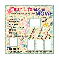 life as movie by »sydnaaay;♥ - USE(: ❤ liked on Polyvore