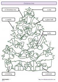 Affiches en anglais christmas anglais pinterest couleurs et no l - Sapin de noel en espagnol ...