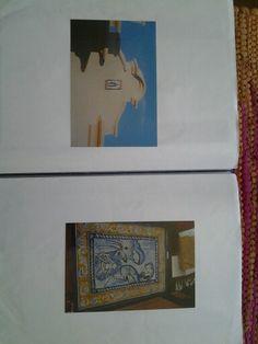 Mural de azulejos de la sagrada famili