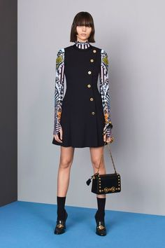 See the full Pre-Fall 2018 collection from Versace.