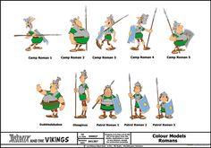 Astérix et les Vikings - Romains