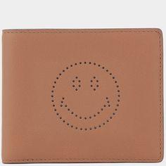 Men's Smiley 8 Card Wallet
