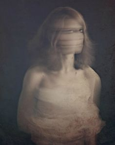 This is beautiful and creepy all at the same time...  Self Observation | Maria Kanevskaya #photography