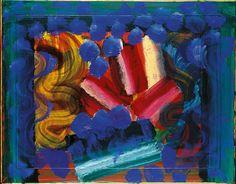 Philadelphia Museum of Art – 2001 · Howard Hodgkin Patrick Heron, Howard Hodgkin, British Flowers, Jr Art, Abstract Painters, Abstract Art, Philadelphia Museum Of Art, Texture Art, Vincent Van Gogh
