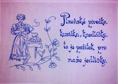 Czech Republic, Embroidery Patterns, Folk, Calligraphy, European Countries, Words, Punch, Ideas, Wood