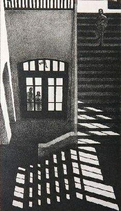 Louis Lozowick - Interior (1973)