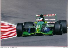 Michael Schumacher  - Jordan 191 (Ford) - 1991 - Belgian Grand Prix Spa-Francochamps