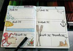"""62 mentions J'aime, 1 commentaires - Intemporelle Création (@intemporelle.creation) sur Instagram : """"Semaine 23 dans mon bullet journal... #bulletjournal #bujo #bulletjournallove #polychromos #dessin…"""""""