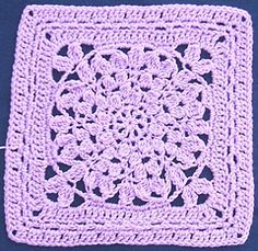 Ravelry: Mum's the Word Square pattern by April Moreland... Free pattern!