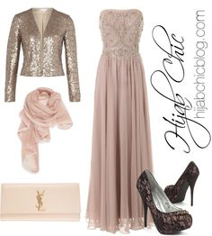 Hijab Fashion: Barbara Schwarzer Dress