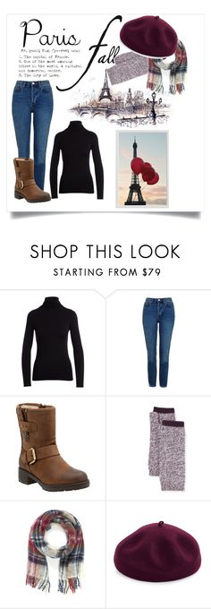 """""""Paris in fall"""" by katiemax34 ❤ liked on Polyvore featuring NM Luxury Essentials, Topshop, Clarks, Bergdorf Goodman, Vivienne Westwood, Kathy Jeanne and Pottery Barn"""