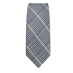 Cravatta Stretta, a motivi fondo grigio