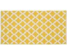 Z Dywan zewnętrzny/wewnętrzny Kaheka w kolorze: żółty od Kalaidu doświadczysz niezwykłej miękkości. Więcej dywanów odkryjesz na >> WestwingNow.