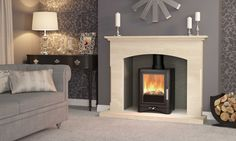A multifuel stove in the sleek shape of the EVOLUTION 5 can create a revolution in the way your room looks.