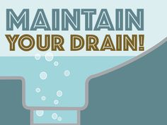 Maintain Your Drain! Preventing Household Clogs