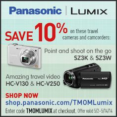 Meet your new favorite camera! Plus it's 10% off with this special code. #lumixlounge