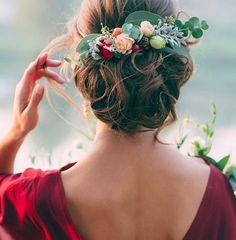 capelli raccolti sposa