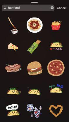 Instagram Kawaii, Instagram Emoji, Instagram Frame, Instagram And Snapchat, Instagram Blog, Instagram Quotes, Food Snapchat, Instagram Story Template, Instagram Story Ideas