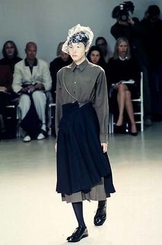 Aprons always attract me... Junya Watanabe Fall 1998