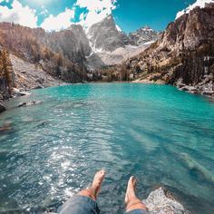 Kick it into #weekend mode with GoPro #FeaturedPhotographer, @zackaltschuler. Read below for the photo breakdowns. ⛰🙌 • Photo 1: This hike to a secret alpine lake in @grandtetonnps was no doubt my favorite #adventure of the summer. After one failed attempt to reach the lake, we came back the next week and conquered it. The water was bright turquoise and crystal clear. One of my favorite things to do when taking stills with my #GoPro is to turn it sideways and shoot in portrait orientation…