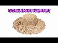 Crochet summer hat yarns 56 ideas for 2019 Crochet Summer Hats, Crochet For Kids, Diy Crochet, Crochet Baby, Crochet Tops, Crochet Hooded Scarf, Black Crochet Dress, Crochet Dresses, Bikinis Crochet