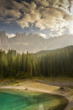 Lake Carezza, Dolomitas | Italy.