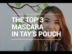 Beautay Talk Ep.10 - the Top 3 Mascara in Tay's Pouch + Giveaway.   This video contain Tay's Top 3 Mascara. Let's talk about what mascara is Tay's favorite.   + This video have a giveaway today. Let check below how to join in  ▶▶ Featured items  1) Chosungah Luna Long Lash Mascara 2) 3 Concept Eyes Volume Long lash Mascara 3) Mustaev Maxi Volume Mascara