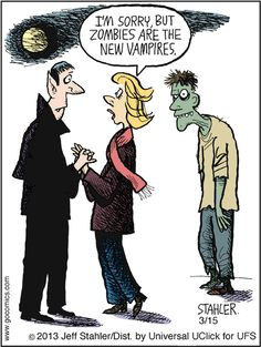 Halloween Funnies. Zombies!