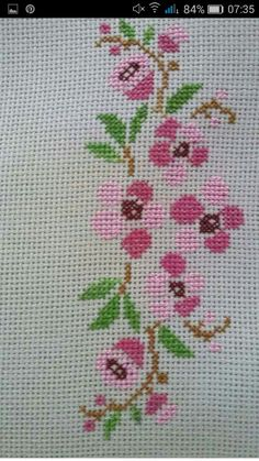 17 best images about esprciales on chitre – Embroidery Desing Ideas Russian Cross Stitch, Cross Stitch Heart, Beaded Cross Stitch, Cross Stitch Borders, Simple Cross Stitch, Cross Stitch Alphabet, Cross Stitch Flowers, Cross Stitch Designs, Cross Stitching