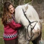 knitting, icelandicpullover, self-made, pink, icelandichorse, horse, pullover, stricken, Islandwolle, Alafoss Lopi, Wolle aus Island