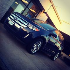 2013 Ford edge, I want it and I will get it. And spencet you can't stop me!! Lol