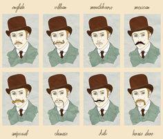 El bigote normalmente es mucho más fino que el mostacho que se define como un bigote grueso que a diferencia de bigote deriva del vocablo italiano mostaccio
