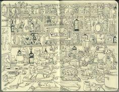 【ノート活用術】モレスキンノートイラスト集。【趣味】 - NAVER まとめ