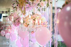 Pastel Balloons, Round Balloons, Helium Balloons, Pink Wedding Decorations, Fall Wedding Centerpieces, Wedding Colors, Table Decorations, Wedding Ceremony Flowers, Backdrop Wedding