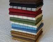 the coziest fat quarter bundle ever - 16 woolies and shadow play flannels