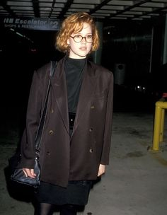 "80s-madonna: "" ""Molly Ringwald at Miss Firecracker's premiere, 1989 "" """