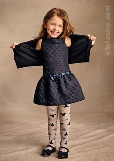 ALALOSHA: VOGUE ENFANTS: ARMANI JUNIOR girlswear AW14