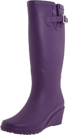 Purple Rain Boots!