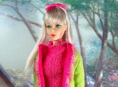 1967 Vintage Mod TNT Silver Ash Barbie in Fancy Dancy