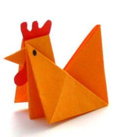 http://www.besserbasteln.de/Origami/Tiere falten/huhn__hahn.html