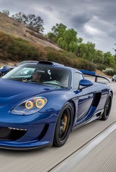 Porsche Carrera GT Mirage by Gemballa