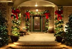 deck the house for all to see fa la la la la outdoor christmas decorationschristmas