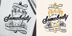 Hand drawn typography poster by Jenna Bresnahan