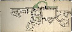 Wien I, Hofburg, Gesamtplan, Parterre, Grundriß von Anonym Marquise, Palaces, Architecture, Nursing, Floor Plans, Gardens, Flooring, How To Plan, House
