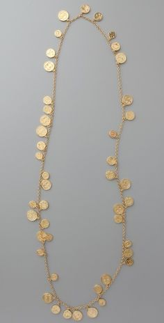 House of Harlow 1960 Long Coin Necklace | Amazon.com's SHOPBOP SAVE 25% use Code:GOBIG14
