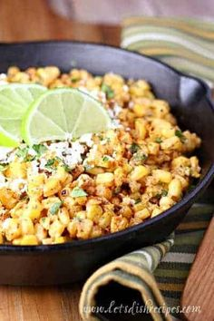 Mexican Street Corn Recipe: Grilled corn in a creamy sauce with spices and lime juice. Grilled corn is tossed with mayonnaise, sour cream, lime juice and spices in this delicious Tex-Mex side dish (Torchy's Tacos copycat). Corn Recipes, Side Dish Recipes, Vegetable Recipes, Mexican Food Recipes, Dinner Recipes, Vegetable Ideas, Restaurant Recipes, Dinner Ideas, Cinco De Mayo