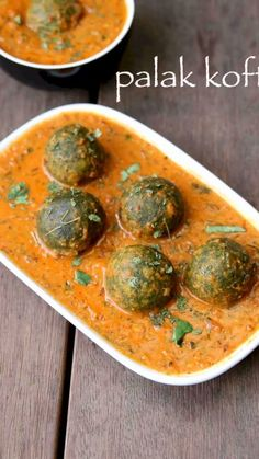 Recipes Snacks Sweet Healthy Sweet Potato Soup recipe that's ready in It's dairy-free and made with only 5 ingredients! Palak Kofta Recipe, Chaat Recipe, Malai Kofta Recipe Video, Veg Kofta Recipe, Kofta Recipe Vegetarian, Malai Recipe, Vegetarian Cooking, Spicy Recipes, Gourmet