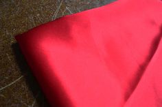 Lipstick Satin Silk Interiors Fabric